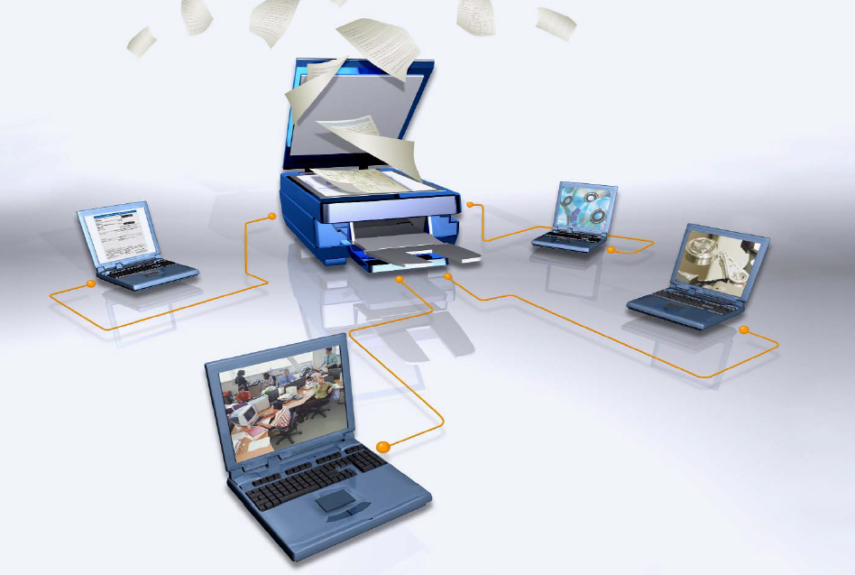 Scanner, digitalização de documento