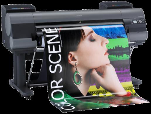 Plotters e impressoras de grandes formatos