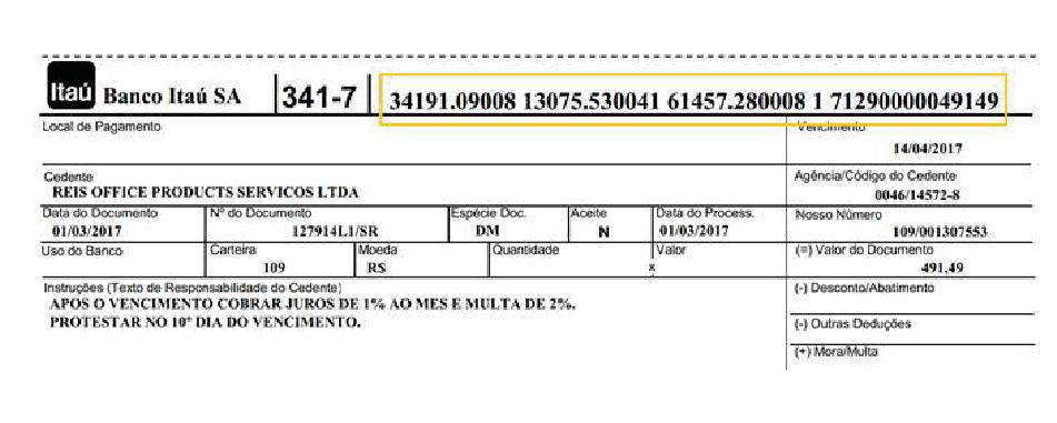Confira o passo a passo para atulizar boleto no site do Itaú
