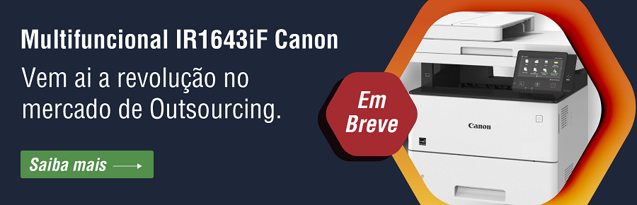 Multifuncional IR1643iF laser mono Canon