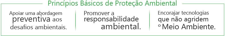 Principios básicos de Proteção Ambiental