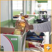 Doação de Alimentos, Utensilios e itens Higiene Pessoal