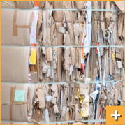 Reciclagem de papeis e papelões para doações