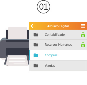 Arquivo Digital 1° passo