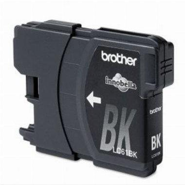 Cartucho de Tinta Preto LC61BK - Brother