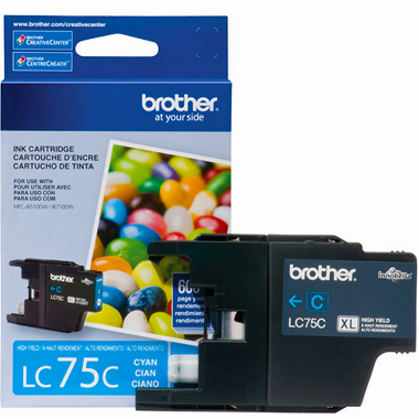 Cartucho de Tinta Azul LC75C - Brother
