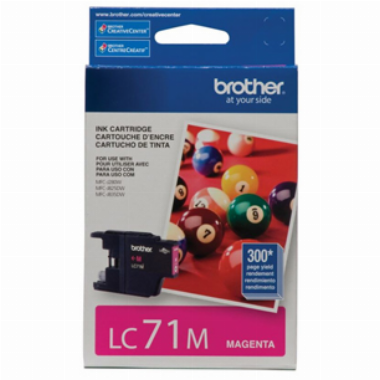 Cartucho de Tinta Magenta LC71M - Brother