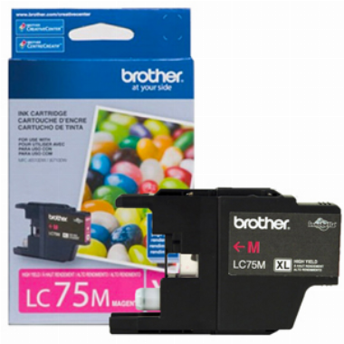 Cartucho de Tinta Magenta LC75M - Brother
