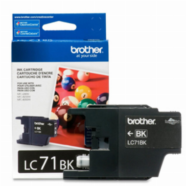 Cartucho de Tinta Preto LC71BK - Brother