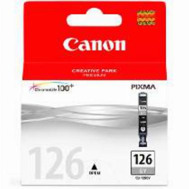 Cartucho de Tinta Cinza CLI126GY - Canon
