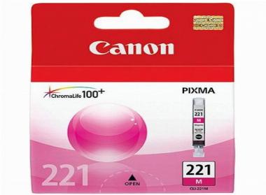 Cartucho de Tinta Magenta CLI221M - Canon