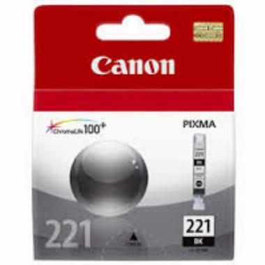 Cartucho de Tinta Preto CLI221BK - Canon