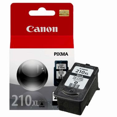 Cartucho de Tinta Preto PG210XLBK 15ml - Canon