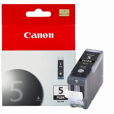 Cartucho de Tinta Preto PGI5BK - Canon