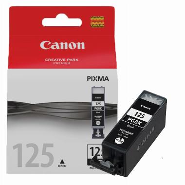 Cartucho de Tinta Preto PGI125BK - Canon