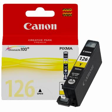 Cartucho de Tinta Amarelo CLI126Y - Canon