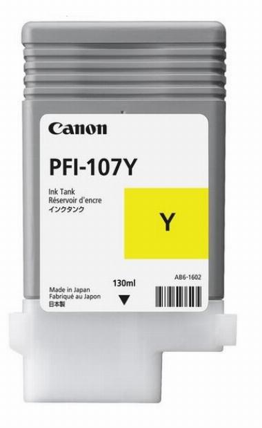 Canon PFI-107Y - Amarelo - 6708B003AA