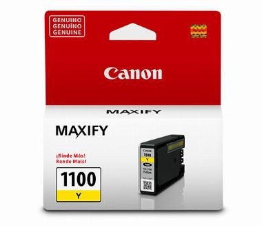 Cartucho de Tinta Amarelo PGI1100Y - Canon