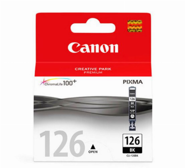 Cartucho de Tinta Preto CLI126BK - Canon