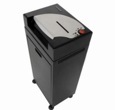 Fragmentadora de Papel (25 fls)/ Cartão/ Disquete/ Grampos/ Clips/ CD e DVD Destroyer 270P C/ Cesto de 60L - 127V - Menno