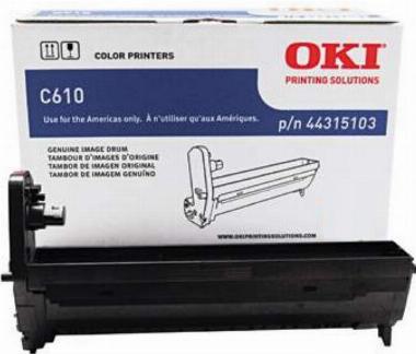 Cilindro de imagem Ciano C610 - OKI