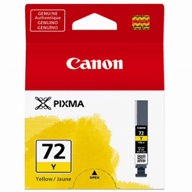 Cartucho De Tinta Canon Amarelo PGI-72