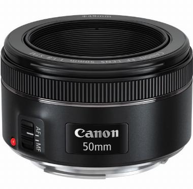 Lente EF 50mm f/1.8 STM para Câmera Digital - Canon