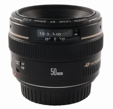 Lente EF 50mm f/1.4 USM para Câmera Digital - Canon
