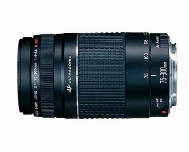 Lente EF 75-300mm f/4-5.6 III USM para Câmera Digital - Canon