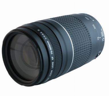 Lente EF 75-300mm f/4-5.6 III para Câmera Digital - Canon