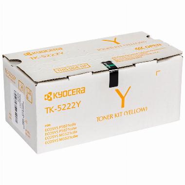 Toner Amarelo TK5222Y - Kyocera