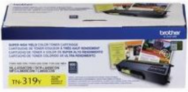 Cartucho de Toner Amarelo TN-319Y - Brother