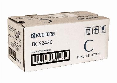 Cartucho de Toner TK5242C Ciano - Kyocera