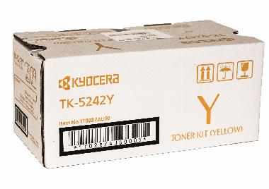 Cartucho de Toner TK5242Y Amarelo - Kyocera