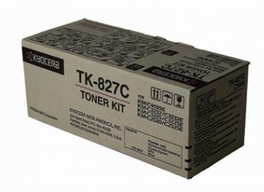 TONER CYAN P/  C2520 C3225 C3232  7.000 PAGS - TK-827 C KYOCERA
