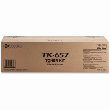 Cartucho de Toner Preto - TK657 - Kyocera