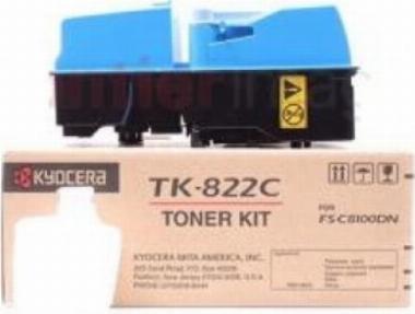 Toner TK-822 Ciano - Kyocera