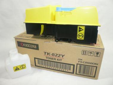 Toner TK-822 Yellow - Kyocera
