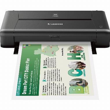Impressora móvel compacta sem fio iP110 - Canon
