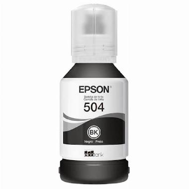 Garrafa de Tinta Preta T504120 - Epson