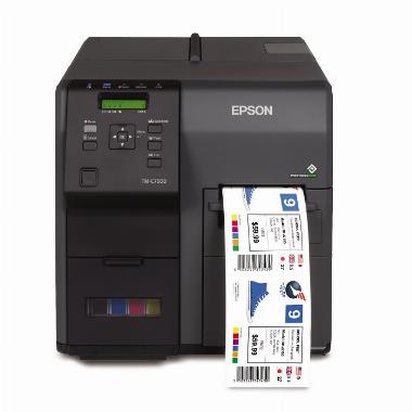 Impressora de Etiquetas Colorida TM- C7500G - EPSON