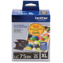 Cartucho de Tinta Preto LC75BK - Brother
