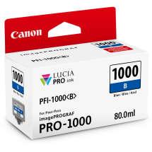 TINTA PIGMENTADA AZUL PFI1000 BLUE IPF PRO1000  80 ML  CANON - 0555C003AA