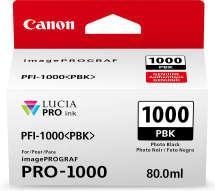 TINTA PFI1000PBK PARA IPF PRO1000 -  CANON - 0546c003AA