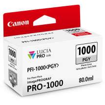 TINTA PIGMENTADA PHOTO CINZA  PFI1000PGY IPF PRO1000  80 ML  CANON - 0553C003AA