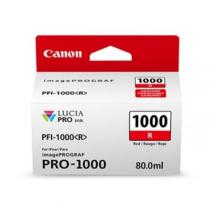 Tinta pigmentada vermelha para imagePROGRAF PRO-1000 - 0554C003AA - Canon